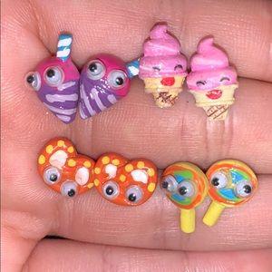 Adorable Set Food Earrings